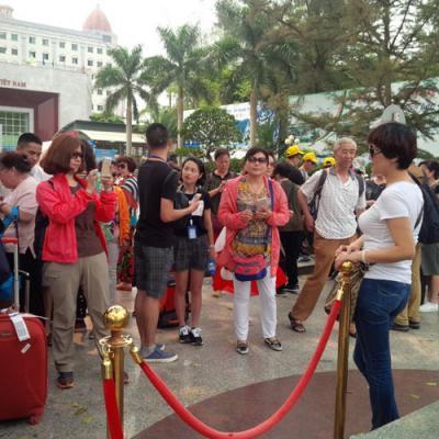 Việt Nam đón hơn 10,4 triệu lượt khách quốc tế trong tám tháng