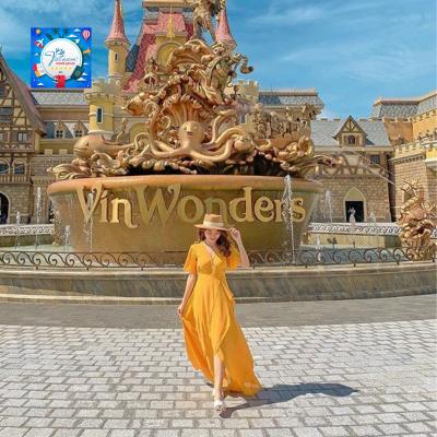 Combo Đảo Ngọc Phú Quốc 3N2D Vinosis + Vinwonder + Vinsafari + Vé máy bay khứ hồi + Buffet Sáng